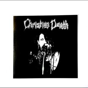 """Christian Death """"Rozz"""" Screen Printed Canvas Patch"""